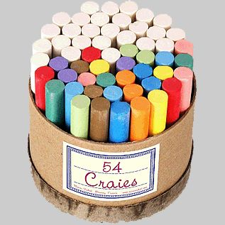 Box of 54 Chalks