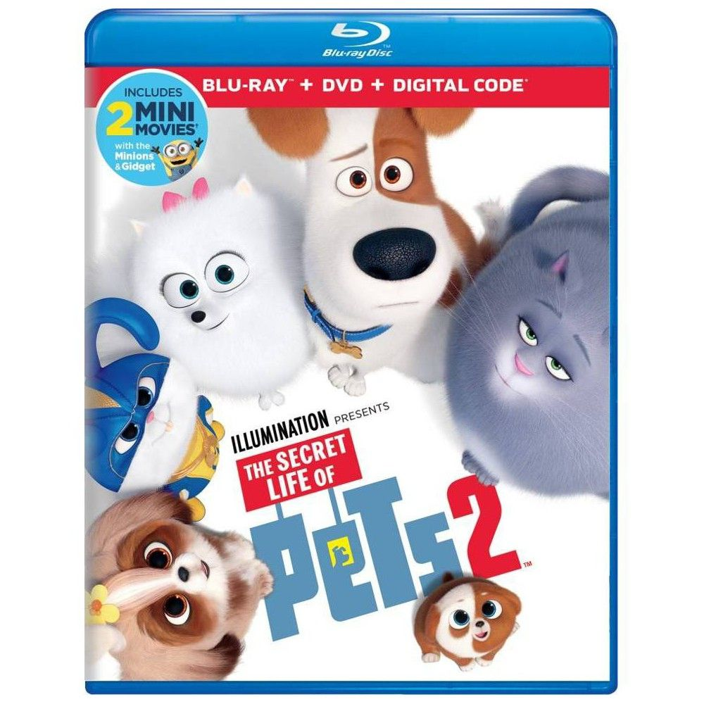 The Secret Life Of Pets 2 Blu Ray Dvd Digital
