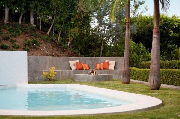 Cool And Fabulous Pool Terrace Design Ideas Outdoor Fire Pit Swimming Pools Backyard Backyard