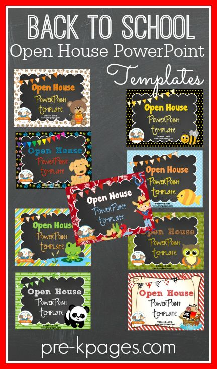 Parent Open House Pinterest School opening, Open house and Hard work - open house powerpoint template