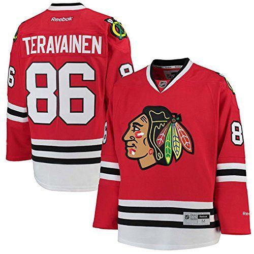 7a8843696 NHL Chicago Blackhawks 86 Teuvo Teravainen Mens Premier Jersey Red color  Size XXXL   You can