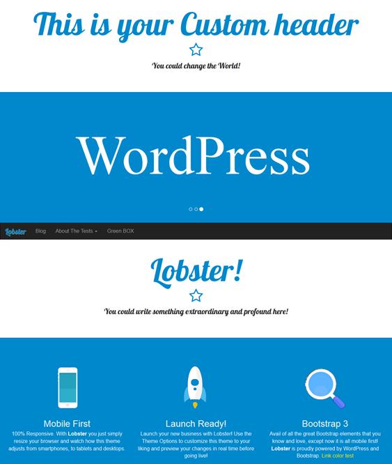 35 Of The Best Free Bootstrap Wordpress Themes Wordpress Theme