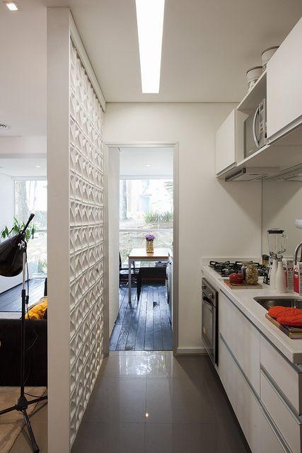 Kitchen   Love The Textured Wall Apartamento Decorado   New Age