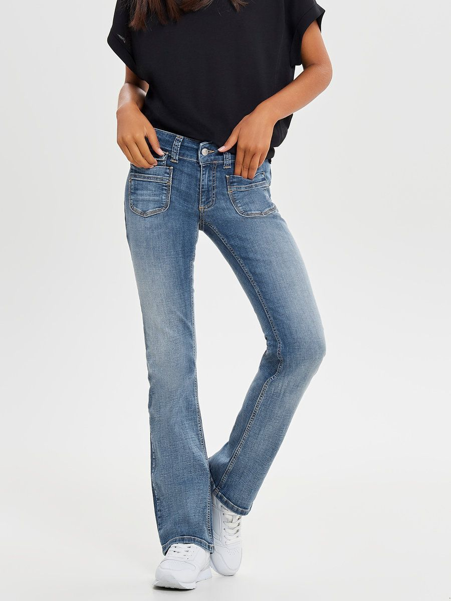 jeans lav talje