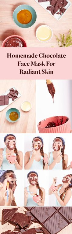 Homemade chocolate face mask for radiant skin chocolate face face solutioingenieria Gallery