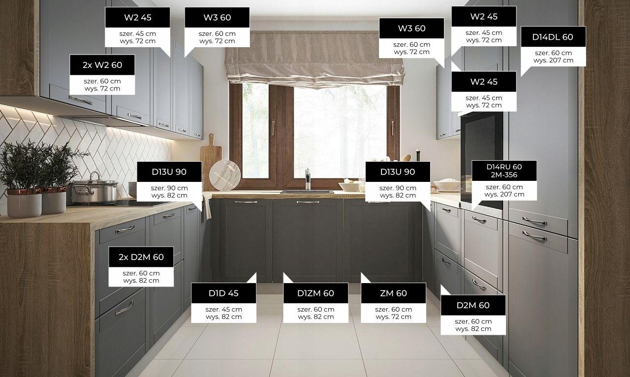 Lakierowana Kuchnia Tivoli Mat Meble Kuchenne 7756840755 Oficjalne Archiwum Allegro Home Home Decor Kitchen Cabinets