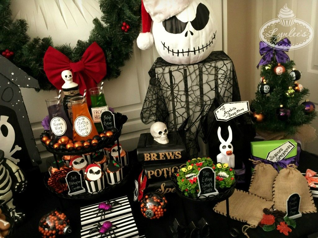 Nightmare Before Christmas Table Placement Lynlees Art Project