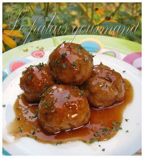 Photo of Chicken meatballs in general tao sauce