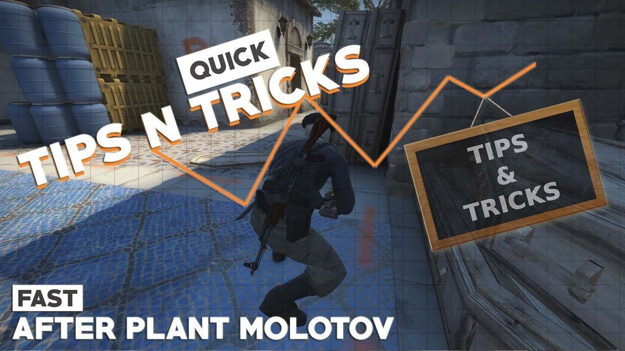 CSGO TIPS #14 Inferno AfterPlant Molotov #games