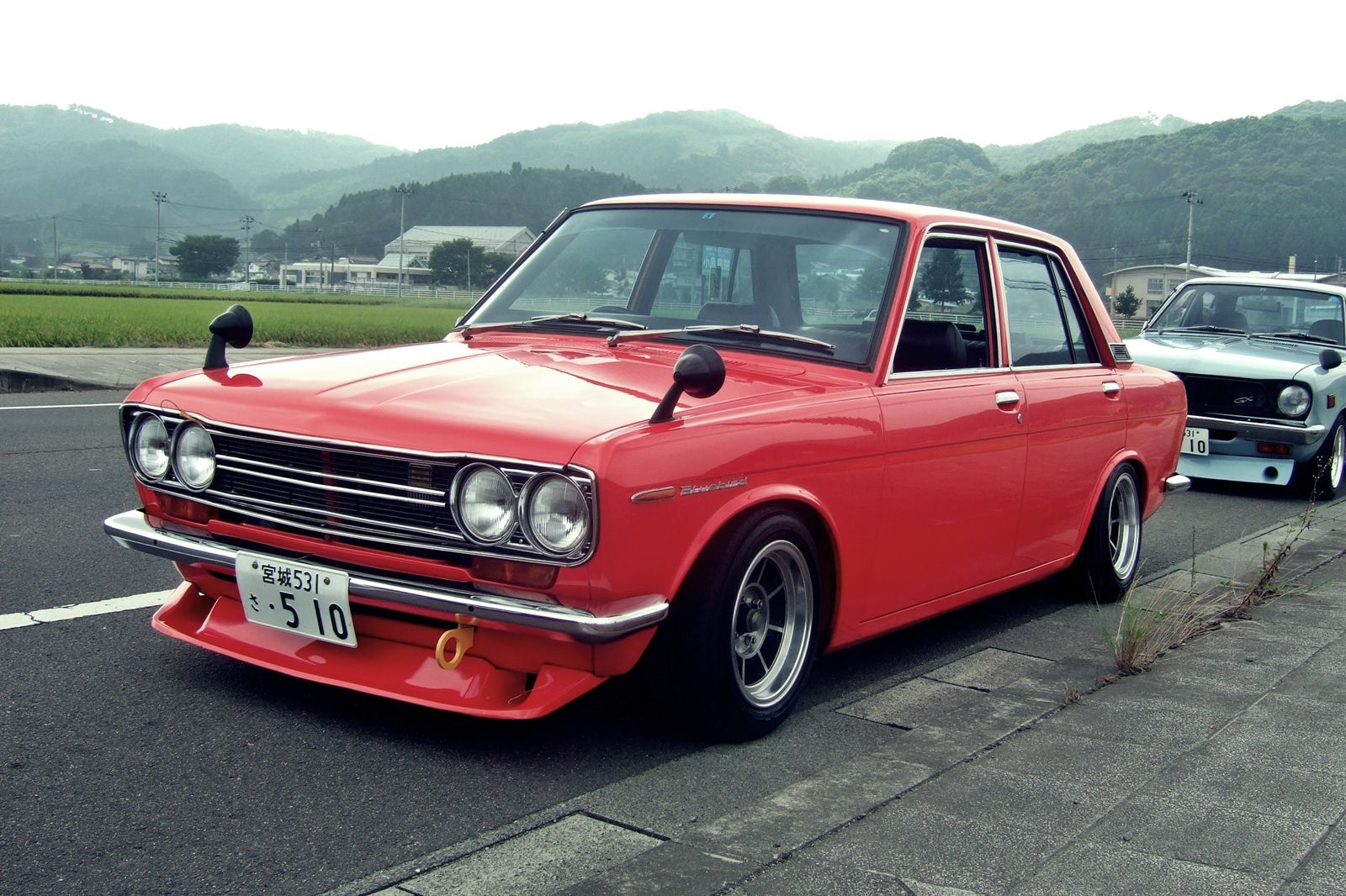 Nissan datsun 510 truck - Datsun 510 Bluebird Modified