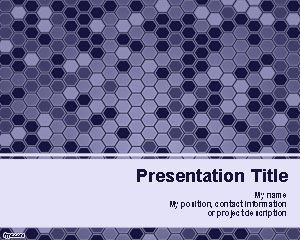 Violet hexagons powerpoint template is a free ppt template with violet hexagons powerpoint template is a free ppt template with violet hexagon shapes in the slide design that you can download as a free abstract toneelgroepblik Image collections