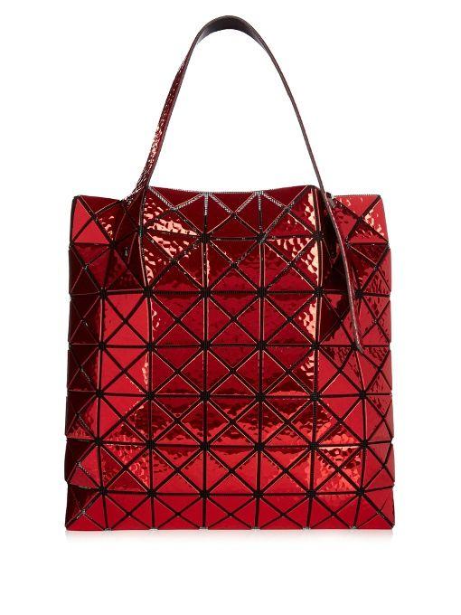 BAO BAO ISSEY MIYAKE Prism Platinum Tsuchime mini tote.  baobaoisseymiyake   bags  hand bags  pvc  tote   cd654d40d8401