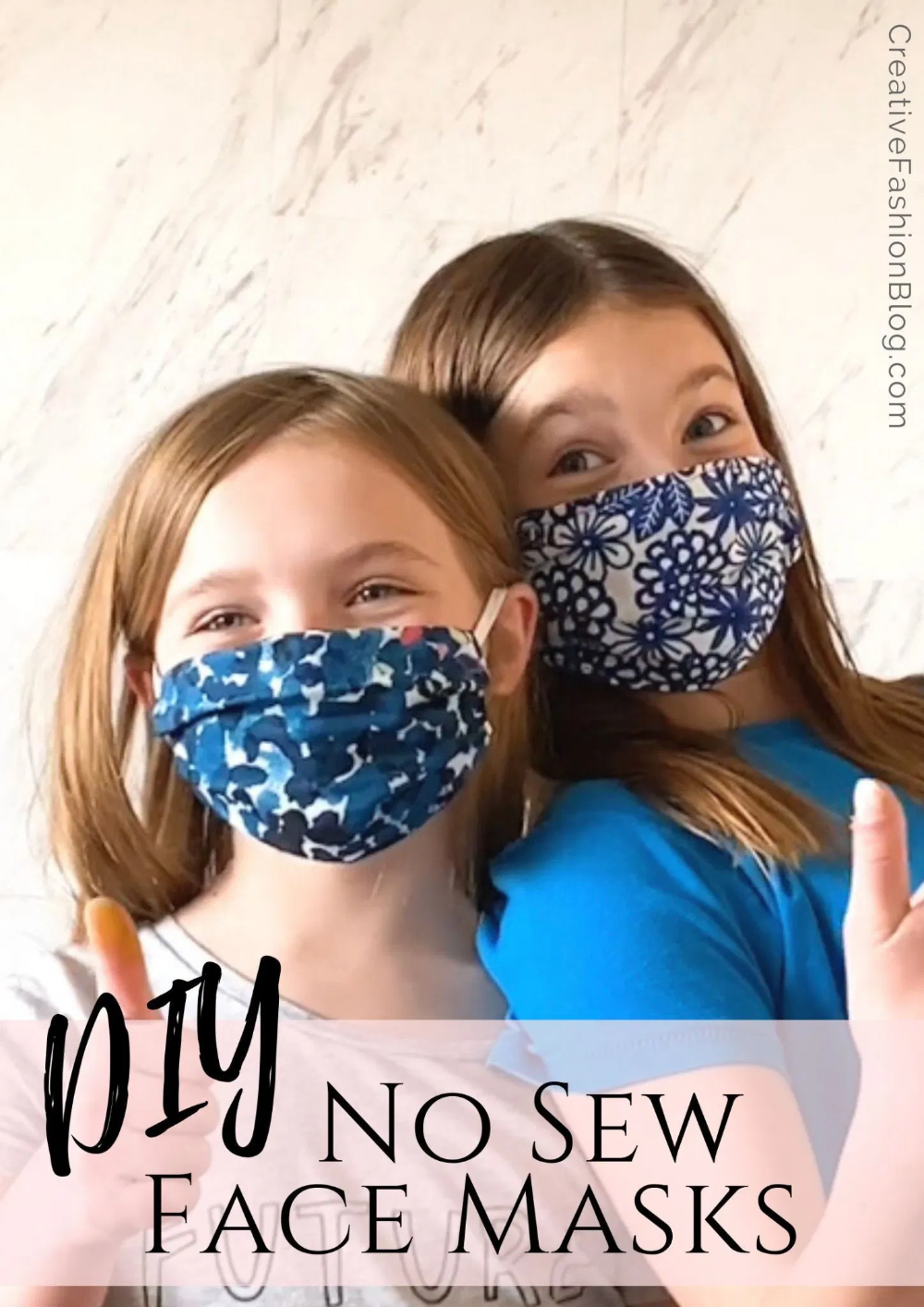 How To Make A Face Mask For Kids And Adults . No Sew