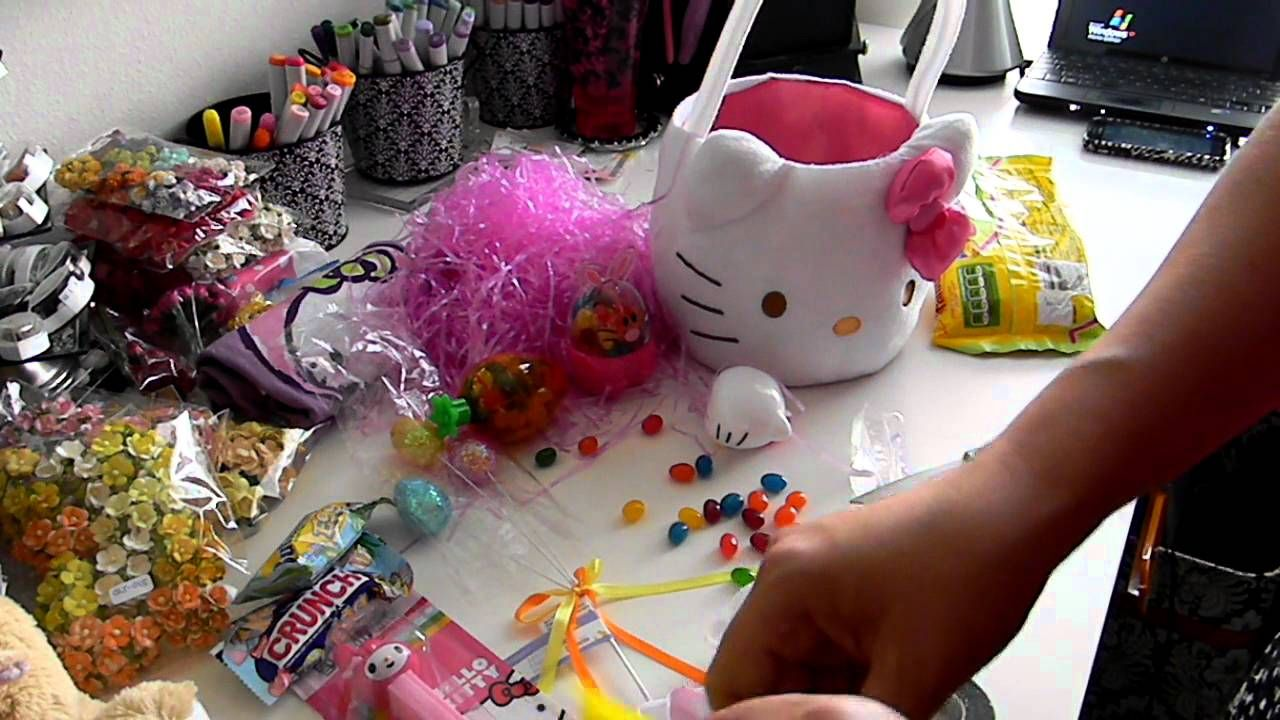 Start to finish tutorial video filling your own easter basket start to finish tutorial video filling your own easter basket hello kit negle Gallery