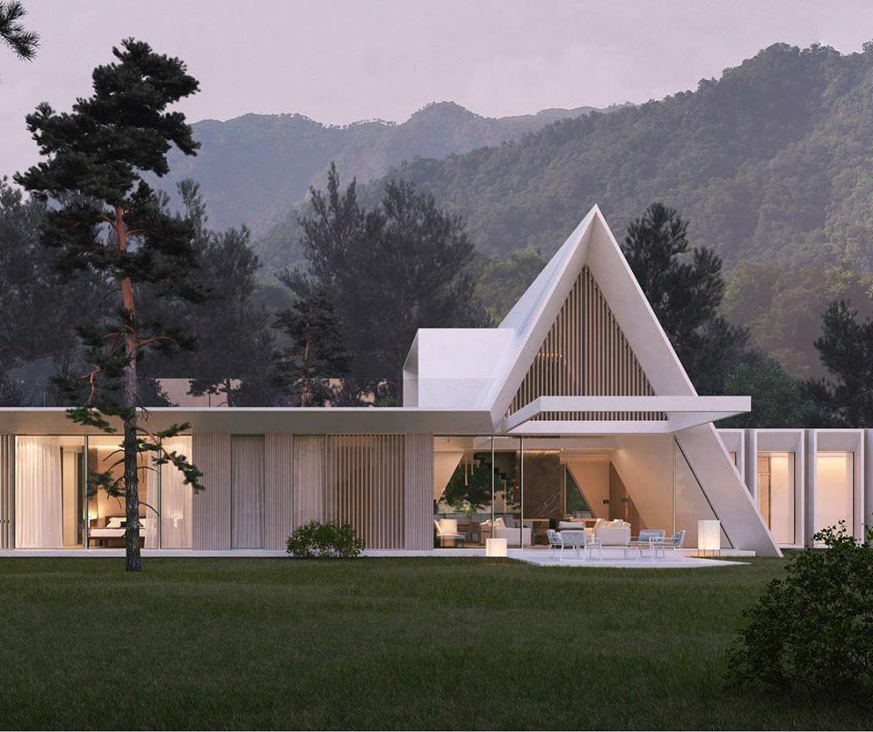 Interieur Design Im Landhausstil \\u2013 Modernes Haus In Florida ...