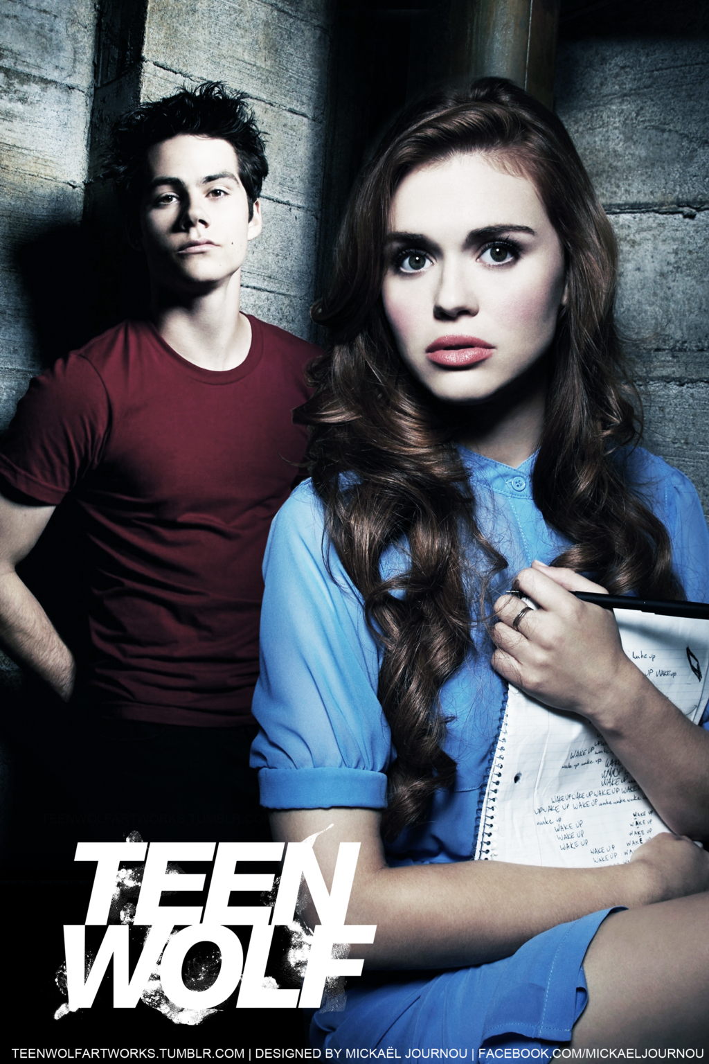 Stiles/Lydia Teen Wolf promo poster by FastMike.deviantart ...