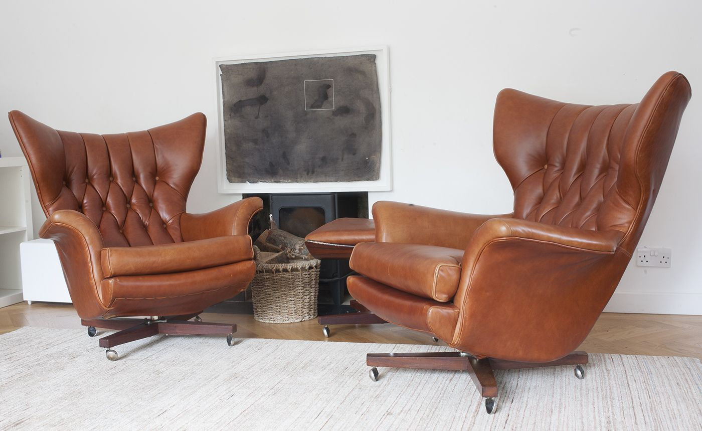 Reunited Twin G Plan Type 6250 S Repaired Refurbished Covered In Cowboy Burnt Tan From Wildma Furniture Upholstery Upholstered Furniture Furniture