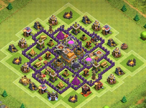35 Best Th7 Farming Base Links 2020 New Anti Everything Town Hall Town Hall 6 Farm