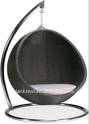Swing Egg Stoel.Source C09 Outdoor Hanging Swing Chair Outdoor Rattan Hanging Egg