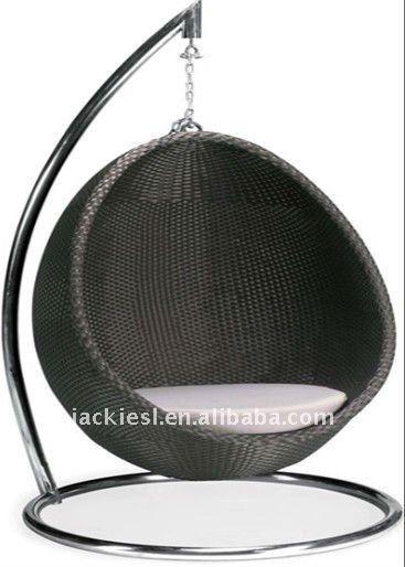 Source C09 Outdoor Hanging Swing Chair Outdoor Rattan Hanging Egg