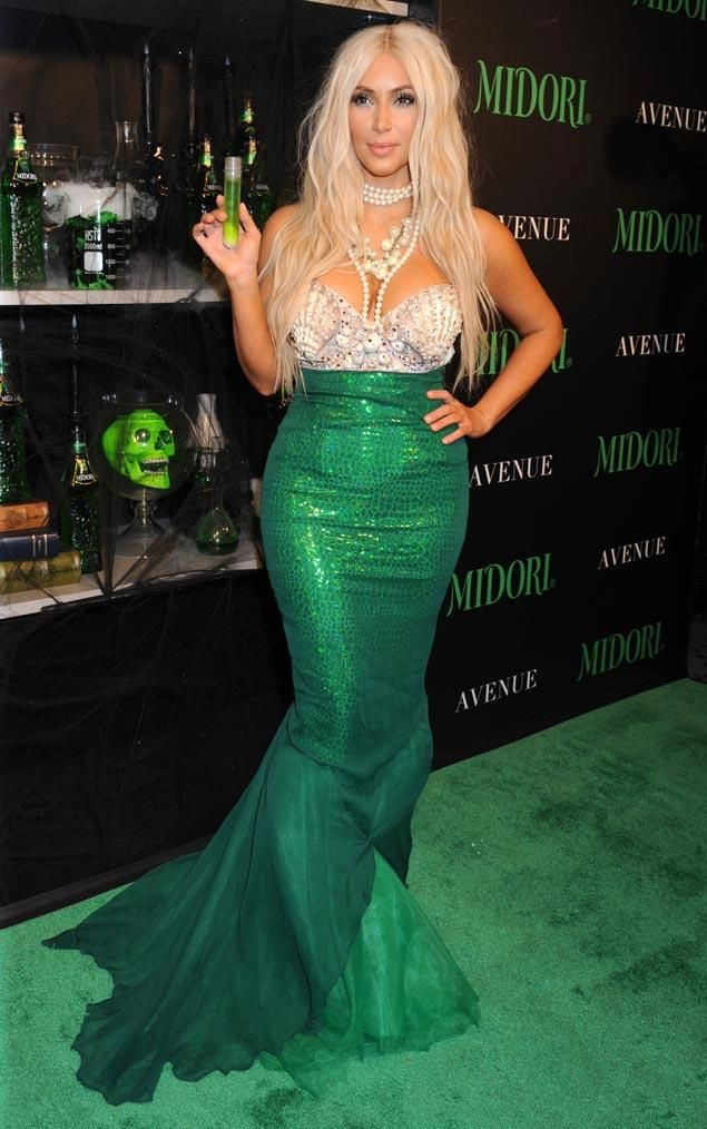 kim kardashian s mermaid costume mermaid costume