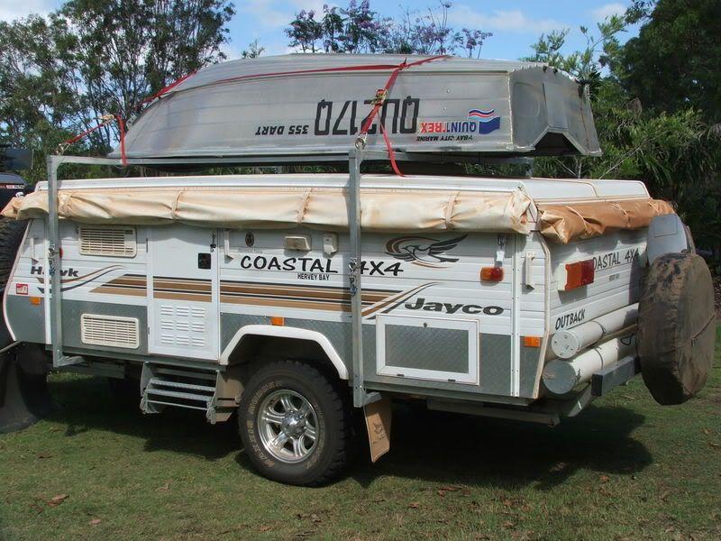 Boat racks for jayco campers jayco campers camper boat