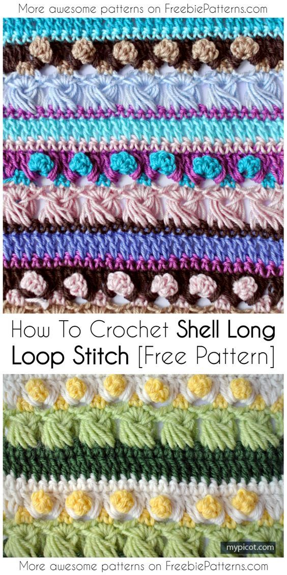 6 Multi-colored Crochet Stitches That Look Stunning in a Blanket ...