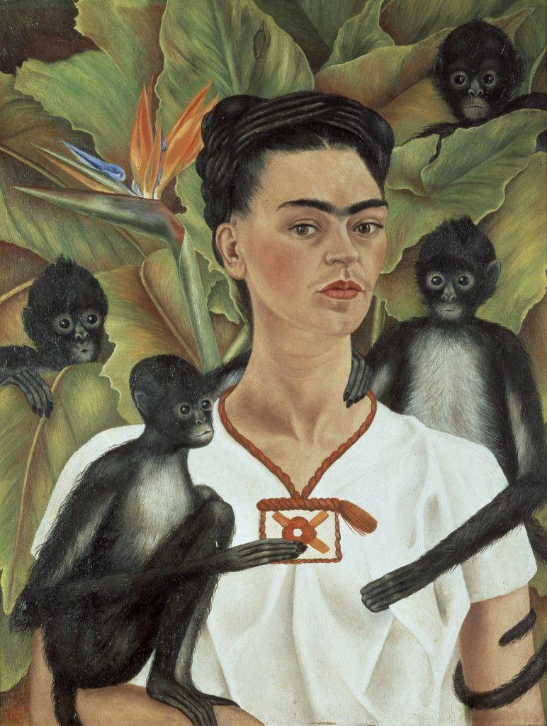 Frida Kahlo _ Il pennello del dolore | Autoritratti, Diego rivera, Frida kahlo