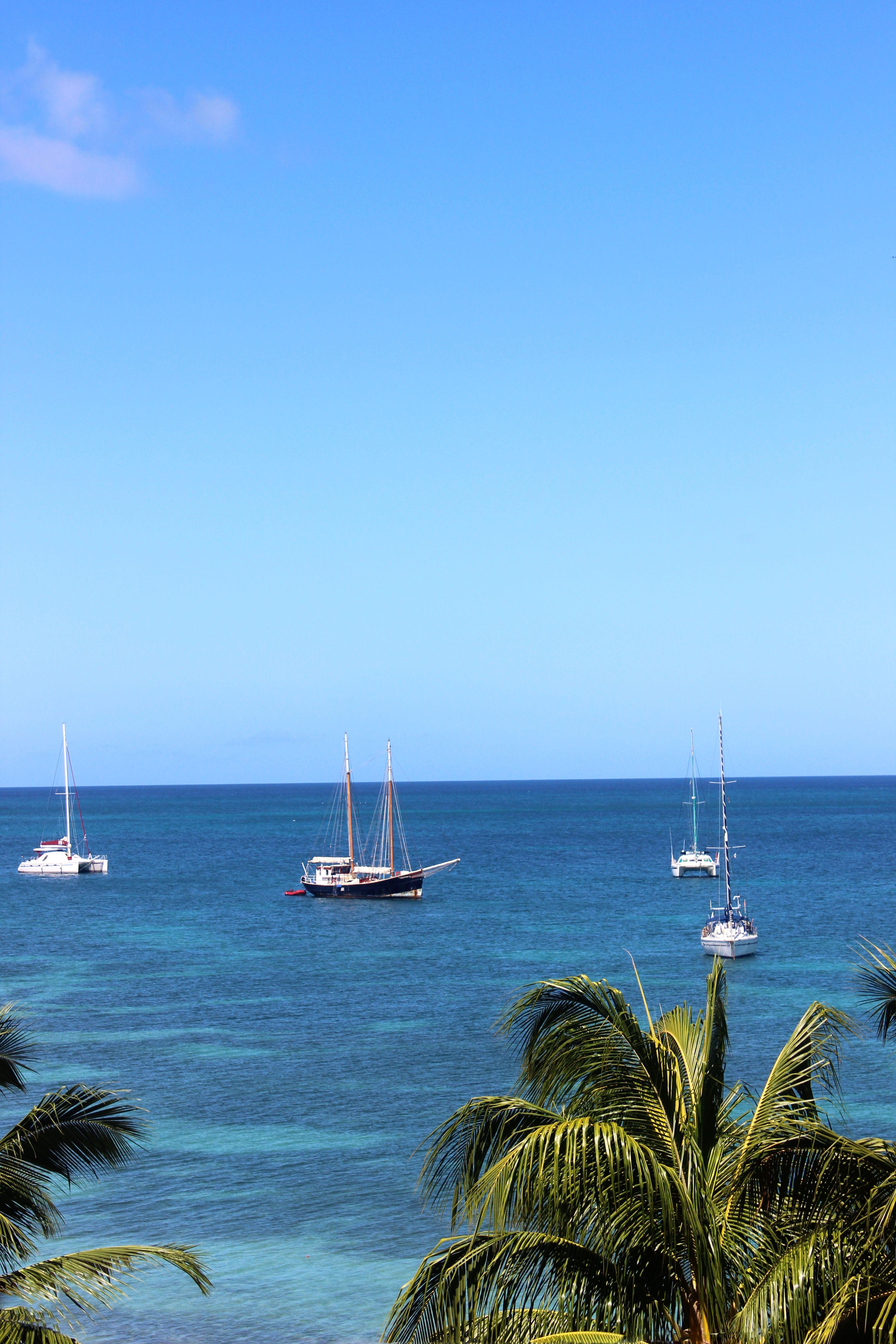 Boats overseas Sainte-Anne Martinique