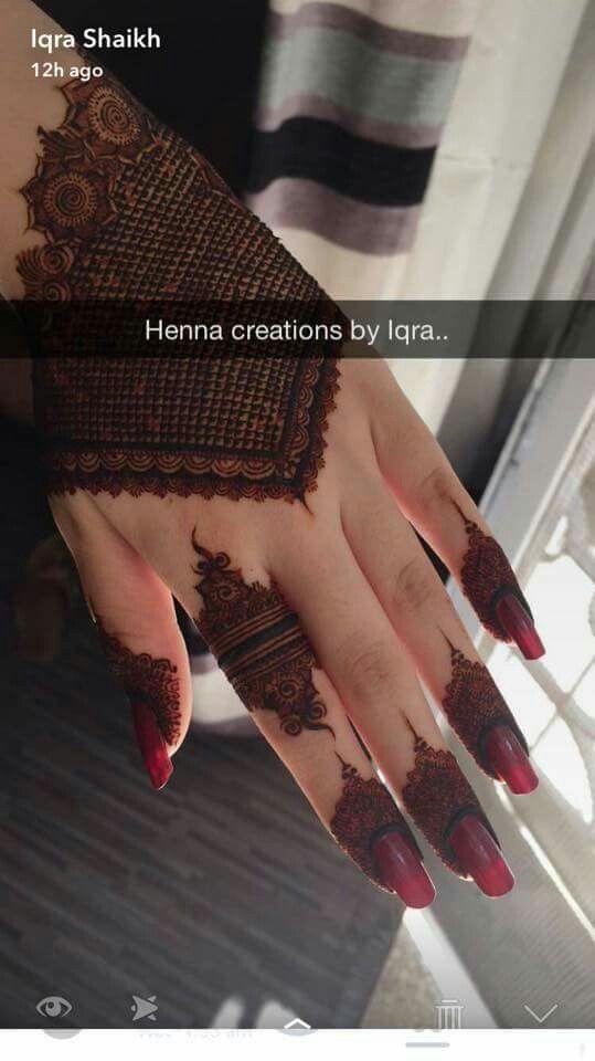 Henna On Forearm Mehndi Floral Design Custom Henna Creations