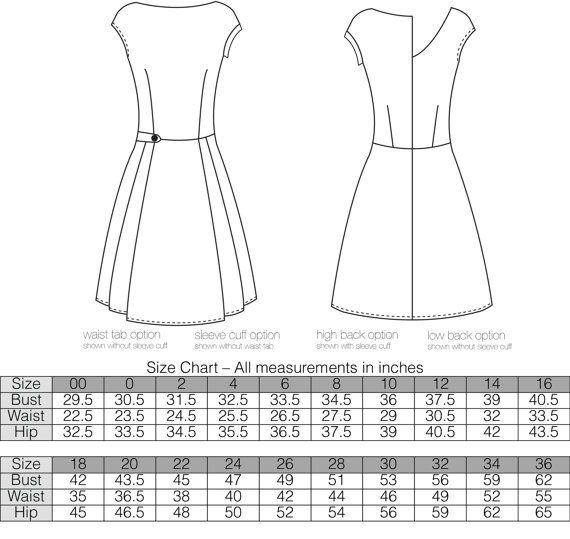 Jackie Dress PDF Sewing Pattern by RadPatterns on Etsy | Sewing ...
