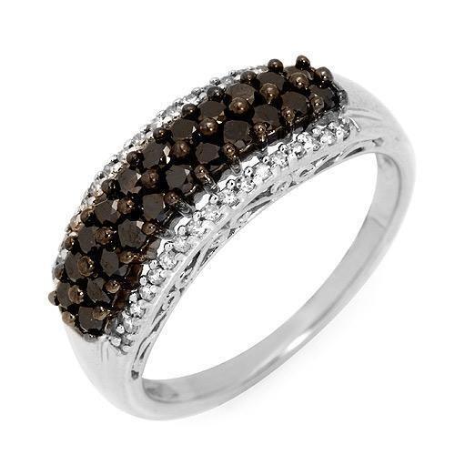 Black Diamond Engagement Rings Band 46