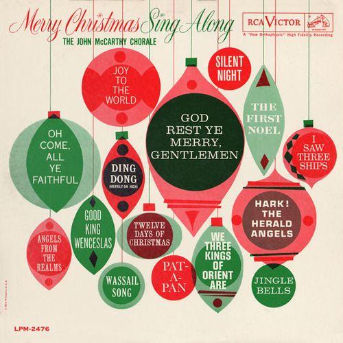 Pin By Katie Jones On Design Illustration Vintage Christmas Christmas Graphics Christmas Albums
