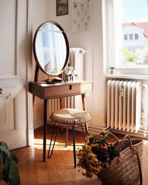 Mini Schminktische für Ihr elegantes und kleines Ambiente #schminktischideen