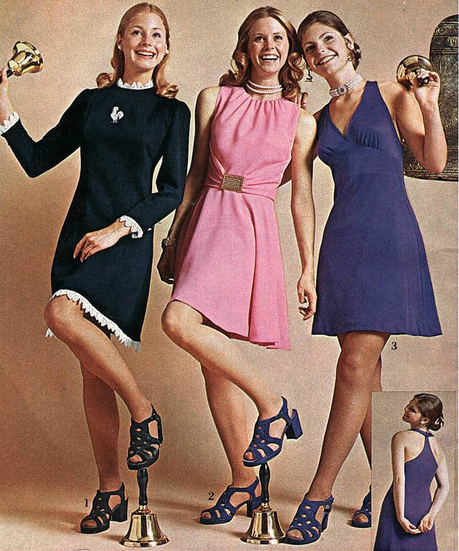 Party Dresses for Teenagers 1971