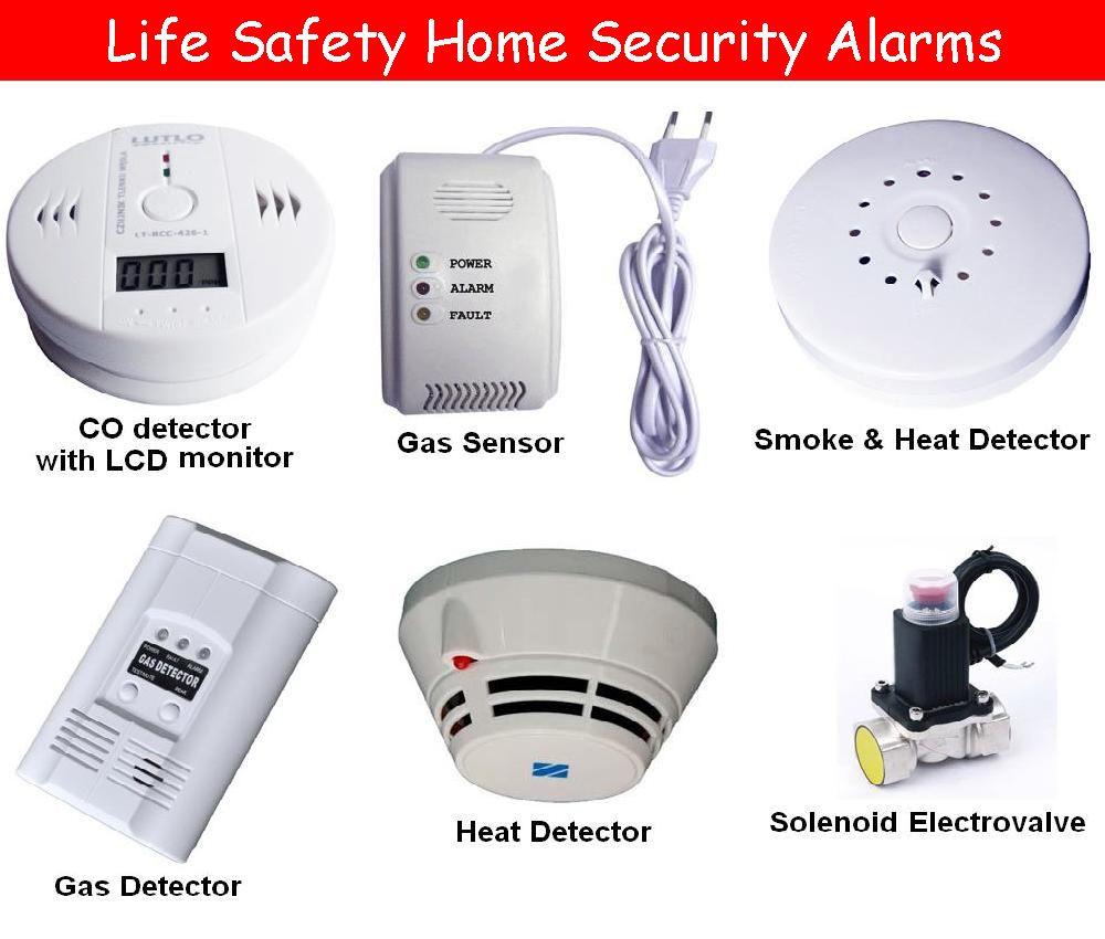 Carbon Monoxide Danger Gas Detector Home Security Buying Appliances
