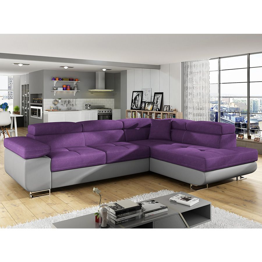 canap dangle convertible violet en tissu scott 7