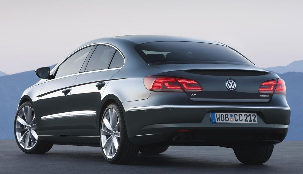 Volkswagen drops Passat name for new CC Volkswagen cc