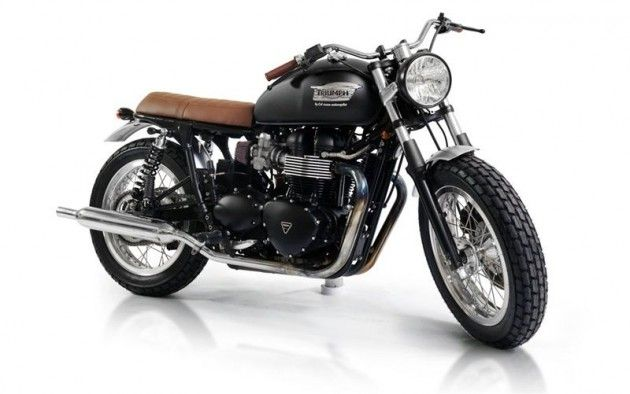Custom CRD Triumph Bonneville