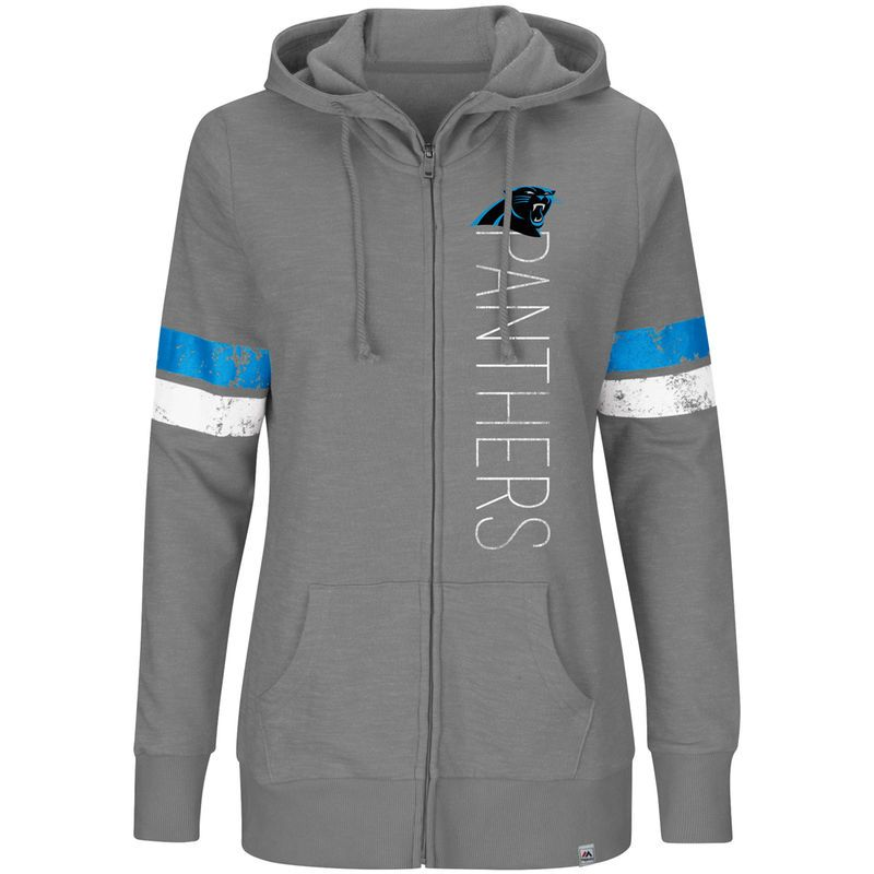 ce1f64ab Carolina Panthers Majestic Women's Plus Size Athletic Tradition Team ...