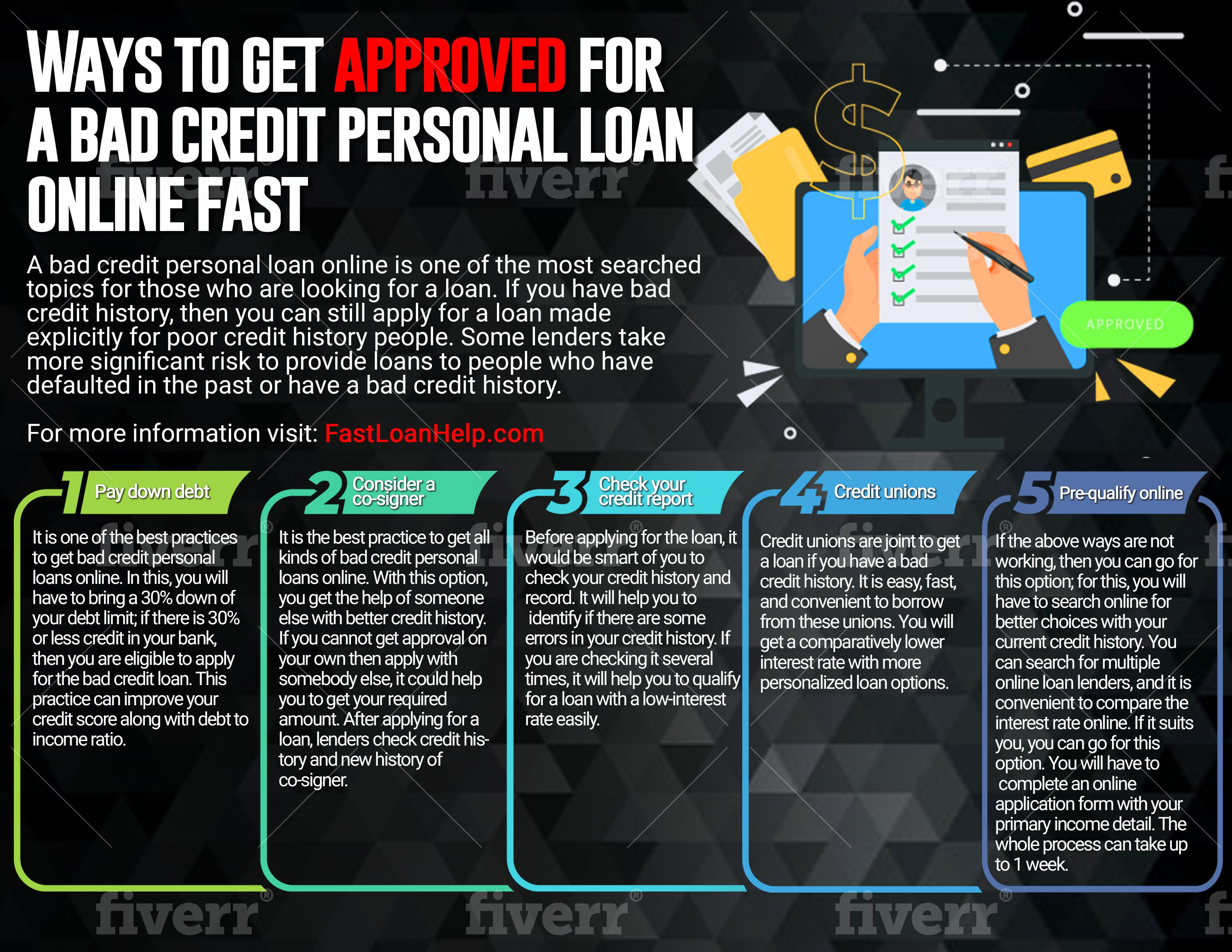 Fast Bad Credit Personal Loans For People With Bad Credit In 2020 Bad Credit Personal Loans Personal Loans Bad Credit
