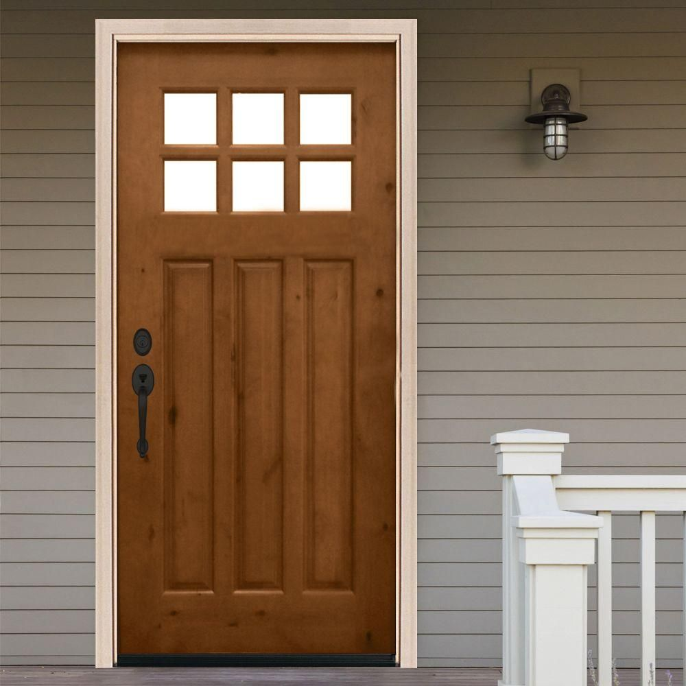 Fresh 6 Light Entry Door