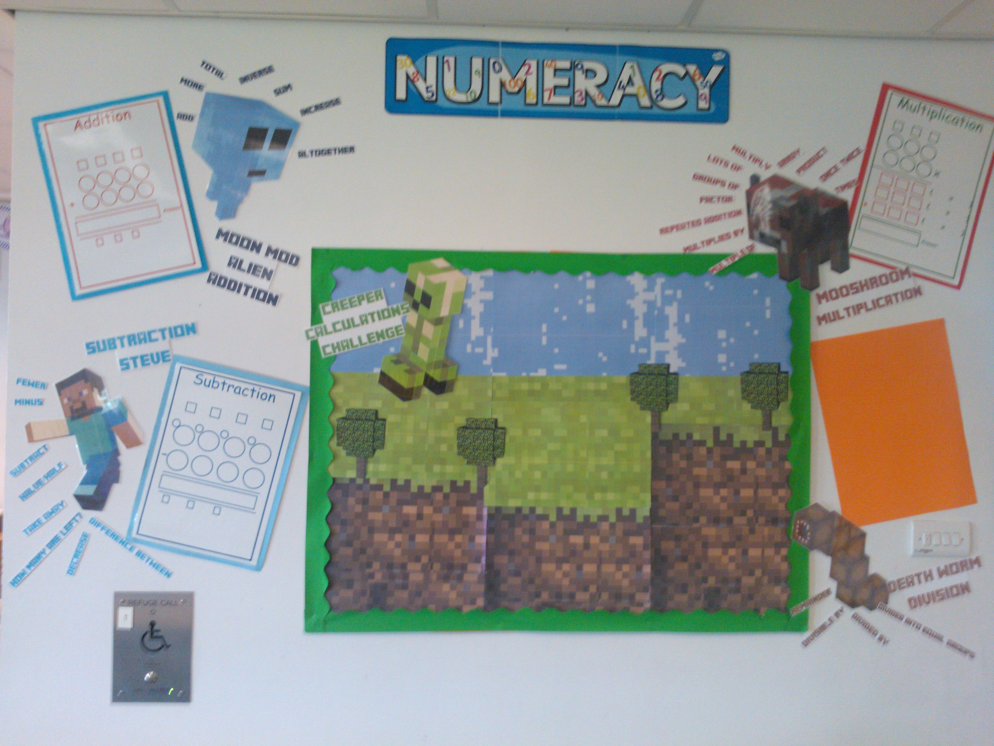 Minecraft Maths Minecraft School Homeschool Minecraft Math Games