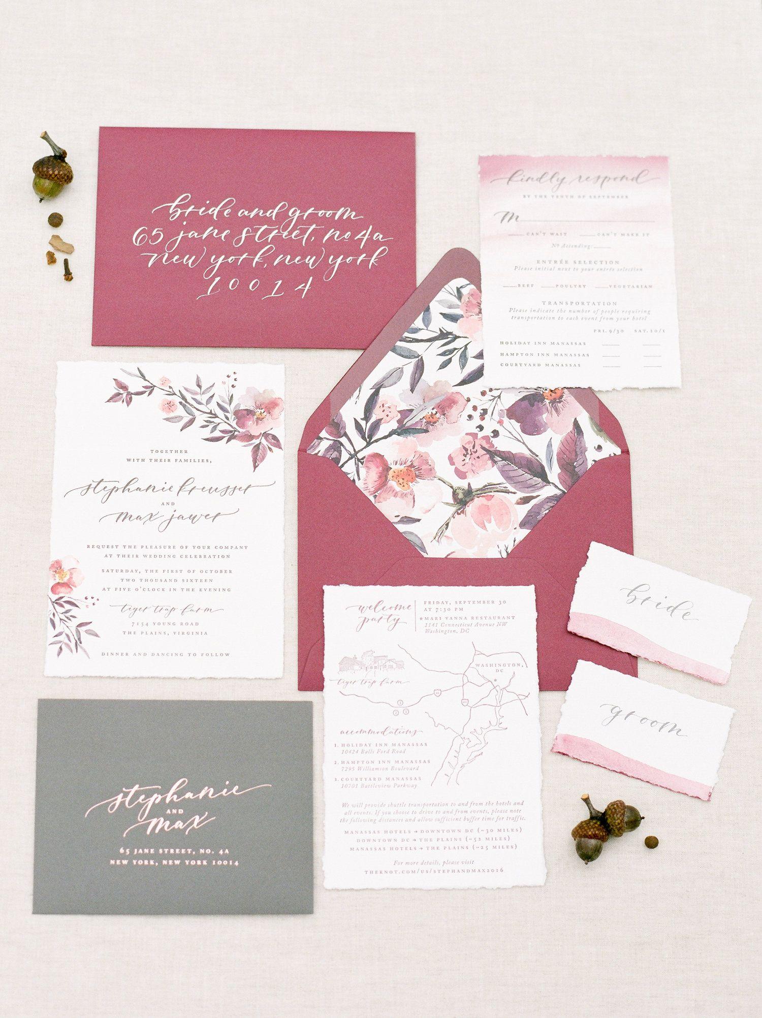 Blog Stephanie B Design With Images Wedding Invitation