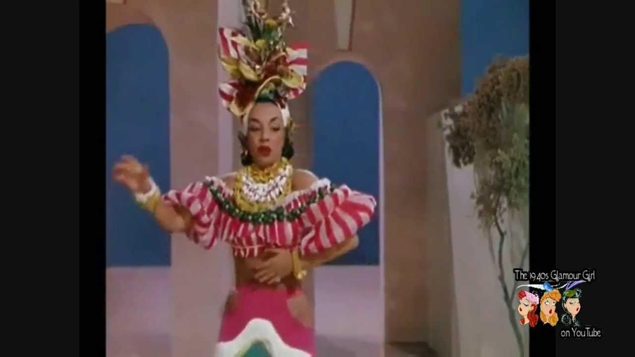 Week End In Havana As Sung By Carmen Miranda Carmen Miranda 1940s Party Music History