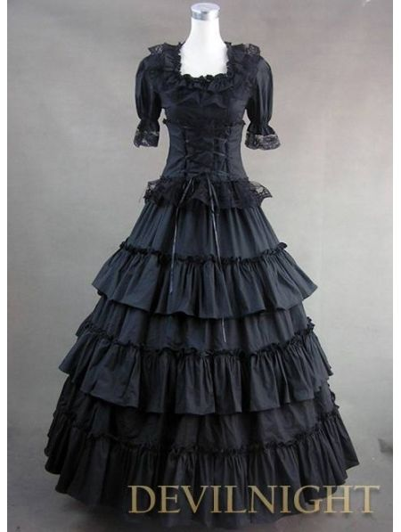>> Click to Buy << Classic Black Long Prom Gothic Lolita Dress #Affiliate