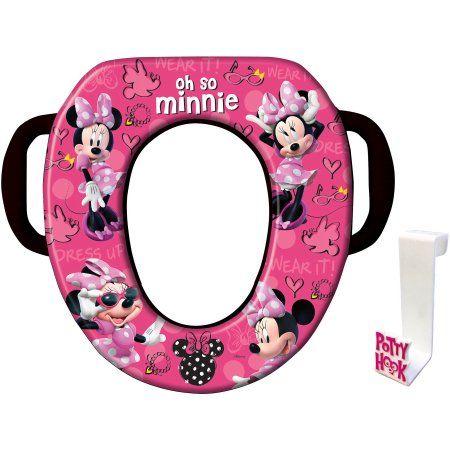 Buy Disney Minnie Mouse Soft Potty Seat At Walmart