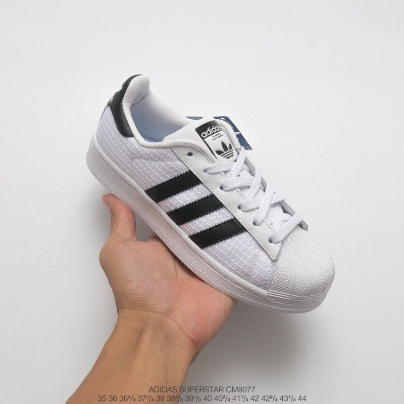 adidas superstar white mesh