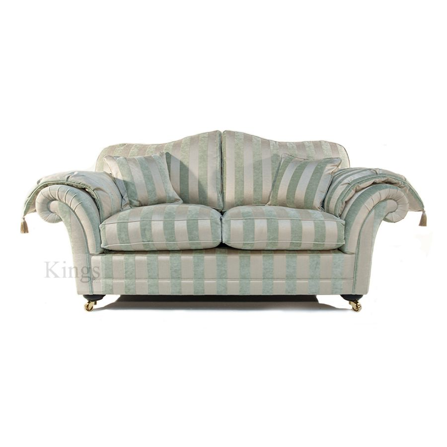 Wade Upholstery Corina Sofa In Soft Aqua Greens Http Www Kingsinteriors Co Uk