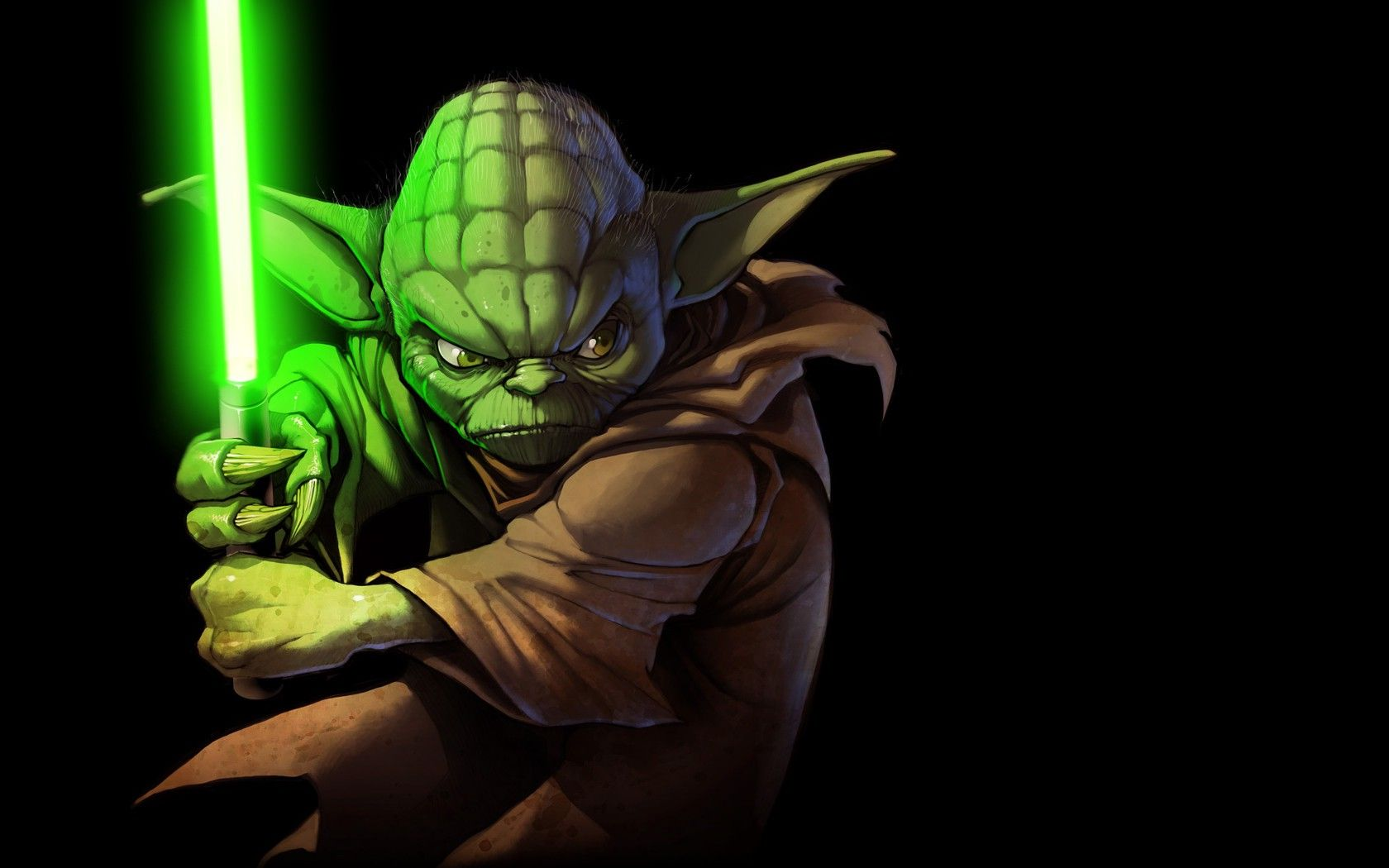 Yoda Star Wars Lightsaber Wallpapers Hd Desktop And Mobile